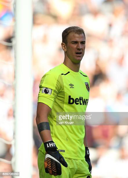 Joe Hart of West Ham United during the Premier League match between Newcastle United and West Ham United at St James Park on August 26 2017 in...