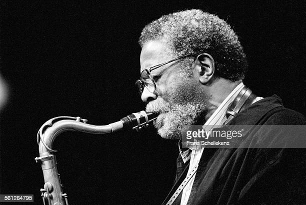 Joe Henderson, tenor saxophone, performs on July 10th 1993 at the North Sea Jazz Festival in the Hague, Netherlands.