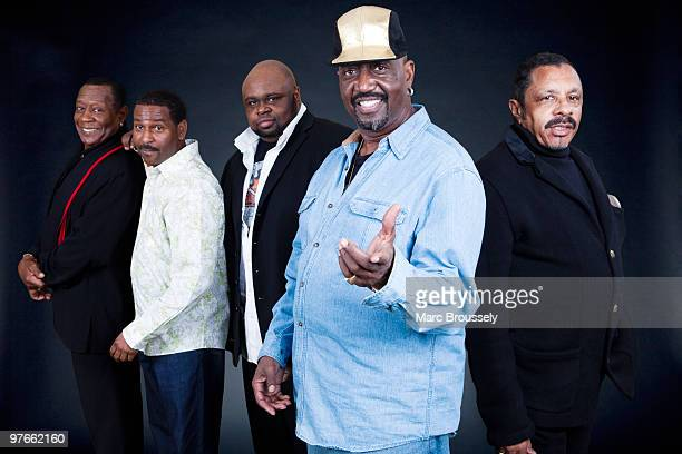 d78d8614892 Joe Herndon Terry Weeks Bruce Williamson Otis Williams and Ron Tyson of The  Temptations pose for