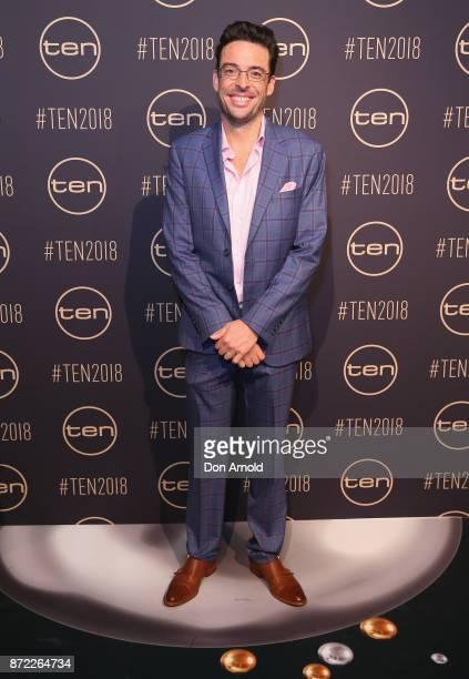 Joe Hildebrand poses during the Network Ten 2018 Upfronts on November 9, 2017 in Sydney, Australia.