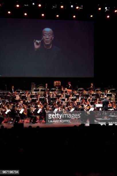 Joe Hisaishi concert charity for Japan earthquake reconstruction at Le Zenith June 23 2011 in Paris France