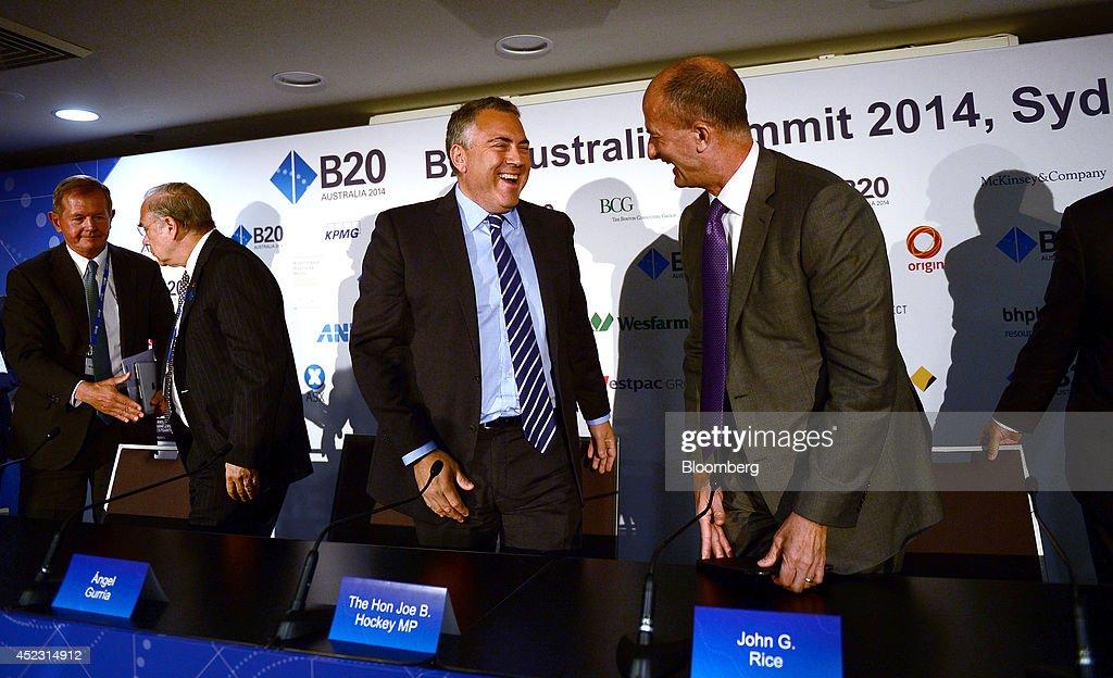 Key Speakers At The B20 Australia Summit