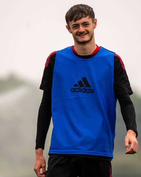GBR: Manchester United Pre-Season Training Session