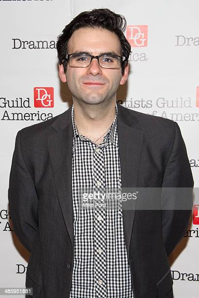 Joe Iconis attends the 2014 AntiPiracy Awareness event at The Dramatists Guild of America on April 21 2014 in New York City