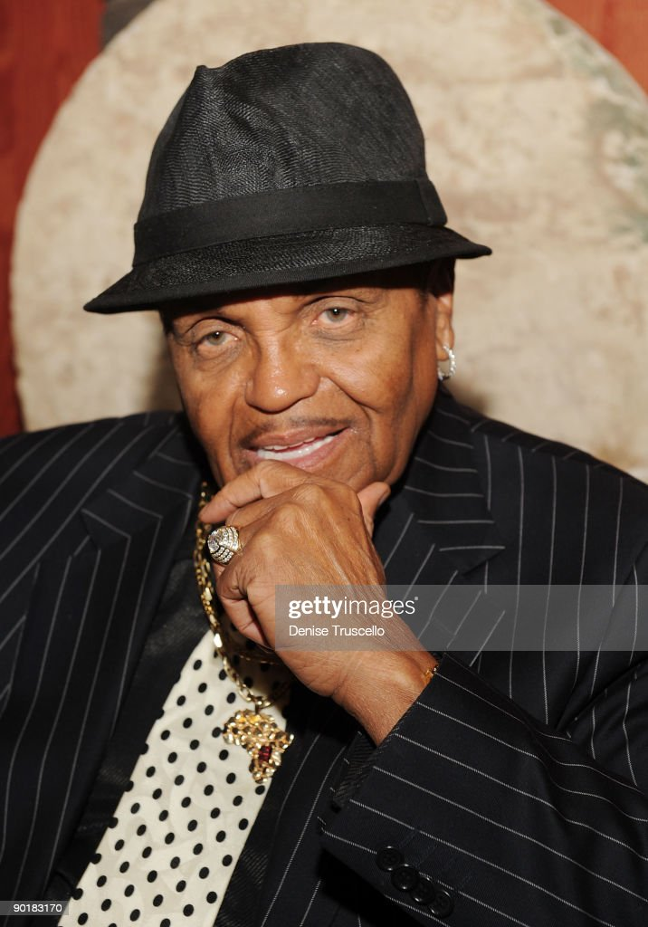 Joe Jackson attends the Brenden Celebrity Suites at The Palms Casino Resort on August 29, 2009 in Las Vegas, Nevada.