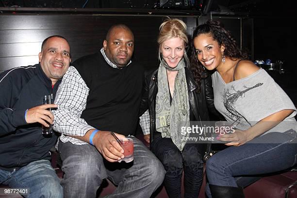 Joe Jackson Fish Jessica Rosenblum and Karina Parajon visit Greenhouse on April 29 2010 in New York City