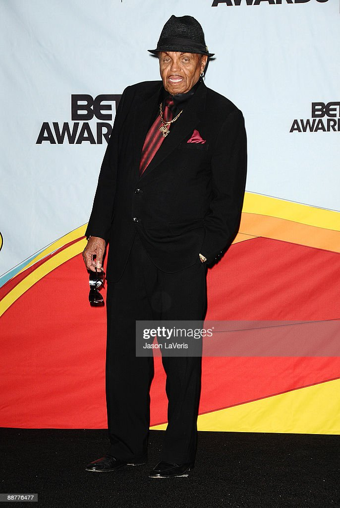 Joe Jackson poses for photos in the press room at the 2009 BET Awards at The Shrine Auditorium on June 28, 2009 in Los Angeles, California.