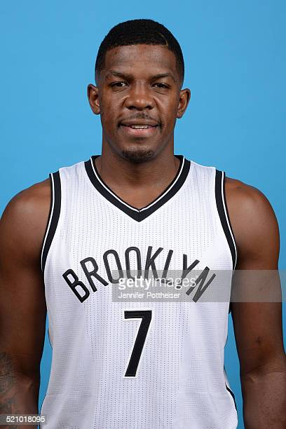 Joe Johnson of the Brooklyn Nets poses for a portrait during media day on September 26 2014 at the PNY Center in East Rutherford New Jersey NOTE TO...