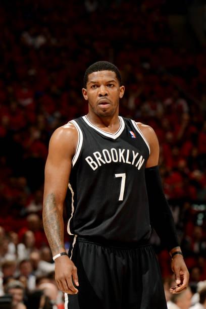 Joe Johnson of the Brooklyn Nets