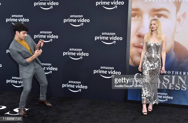 """Joe Jonas and Sophie Turner attend the premiere of Amazon Prime Video's """"Chasing Happiness"""" at Regency Bruin Theatre on June 03, 2019 in Los Angeles,..."""