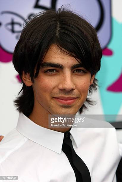Joe Jonas arrives at the European TV premiere of 'Camp Rock' at The Royal Festival Hall on September 10 2008 in London England