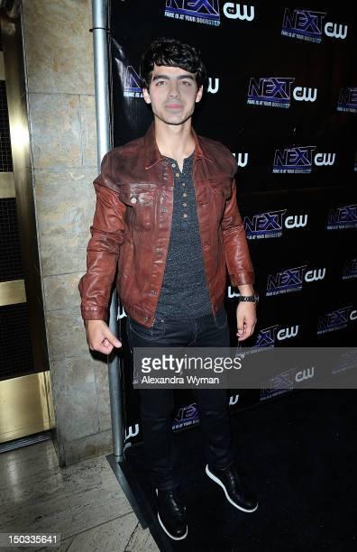 Joe Jonas at The CW celebration of The Next And Joe Jonas' Birthday held at Perch on August 15 2012 in Los Angeles California