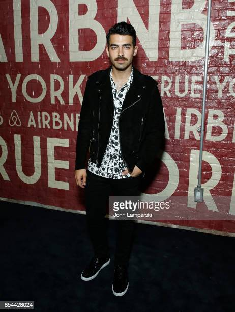 Joe Jonas attends Airbnb presents True York on September 26 2017 in New York City