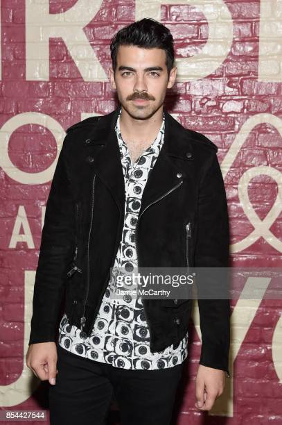 Joe Jonas attends Airbnb's New York City Experiences Launch Event on September 26 2017 in the Brooklyn borough of New York City City