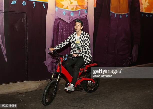 Joe Jonas attends DNCE Jingle Ball after party on December 18 2015 in Miami Florida