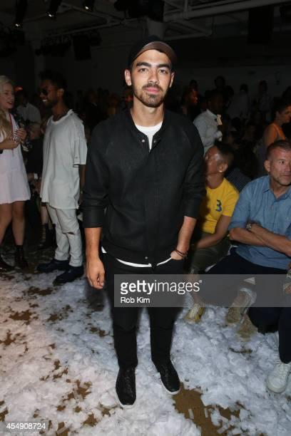 Joe Jonas attends Public School during MADE Fashion Week Spring 2015 at Milk Studios on September 7 2014 in New York City