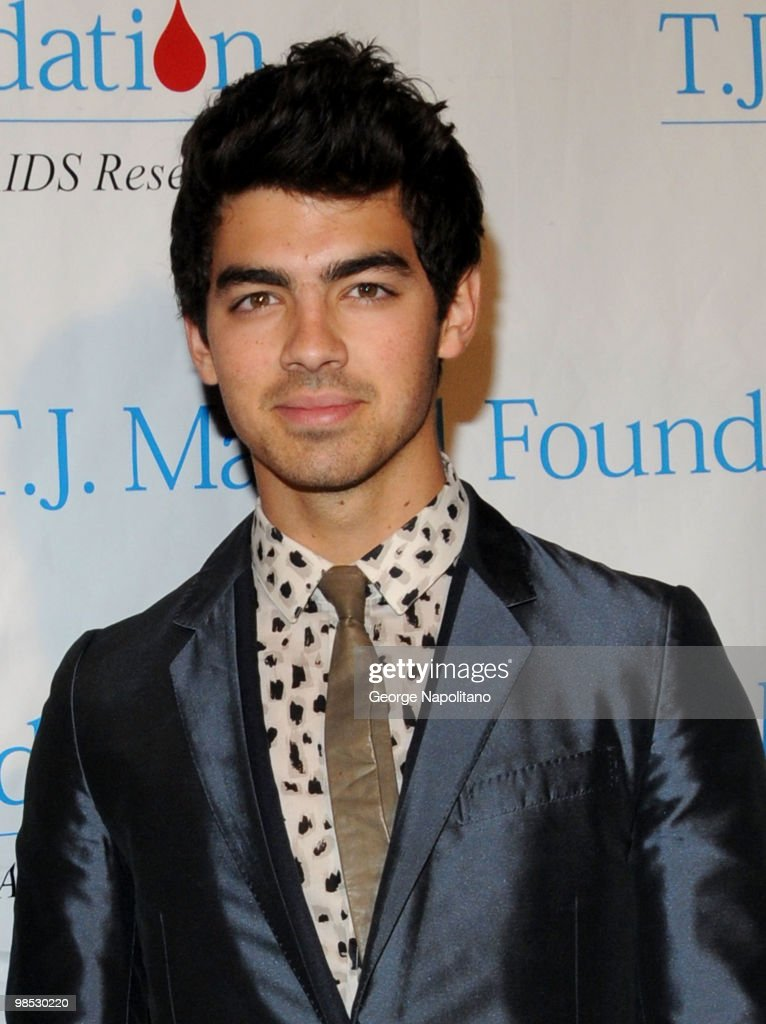 Joe Jonas attends the 11th Annual T.J. Martell Foundation Family Day benefit on April 18, 2010 in New York City.