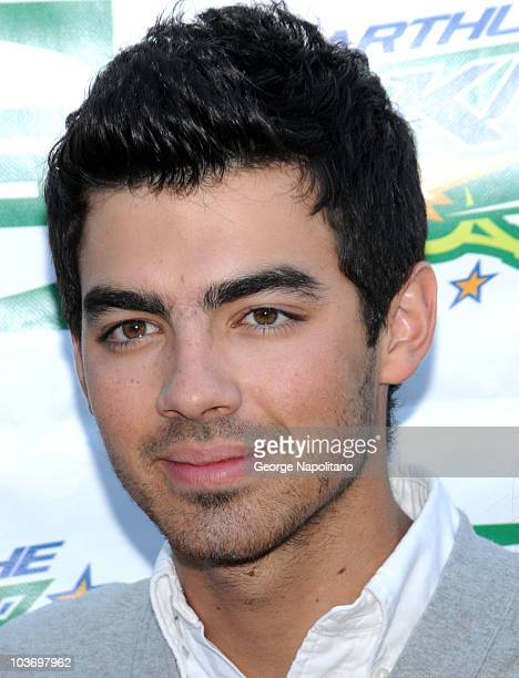 Joe Jonas attends the 2010 Arthur Ashe Kids' Day at the USTA Billie Jean King National Tennis Center on August 28 2010 in the Queens borough of New...