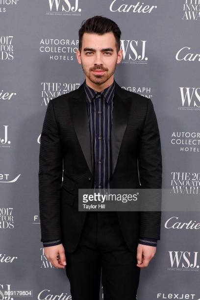 Joe Jonas attends the 2017 WSJ Magazine Innovator Awards at Museum of Modern Art on November 1 2017 in New York City