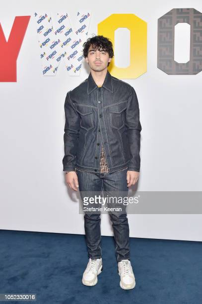 Joe Jonas attends the FENDI MANIA Capsule Collection Launch Event at Fendi on October 16 2018 in Beverly Hills California