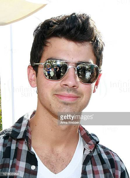 Joe Jonas attends the Kari Feinstein MTV Movie Awards Style Lounge held at Montage Beverly Hills on June 3 2010 in Beverly Hills California