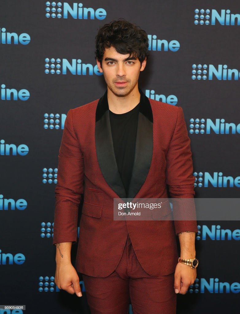 Joe Jonas attends the Nine All Stars Event on May 16, 2018 in Sydney, Australia.
