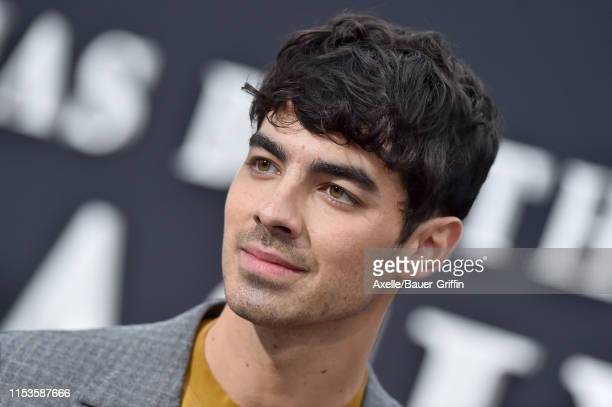 Joe Jonas attends the premiere of Amazon Prime Video's Chasing Happiness at Regency Bruin Theatre on June 03 2019 in Los Angeles California