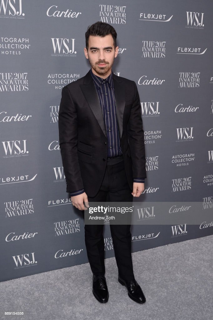 Joe Jonas attends the WSJ. Magazine 2017 Innovator Awards at MOMA on November 1, 2017 in New York City.