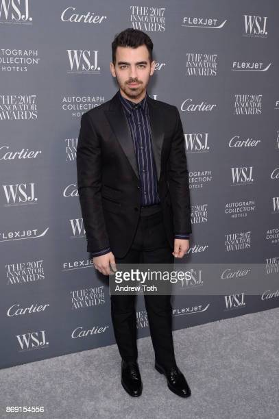 Joe Jonas attends the WSJ Magazine 2017 Innovator Awards at MOMA on November 1 2017 in New York City