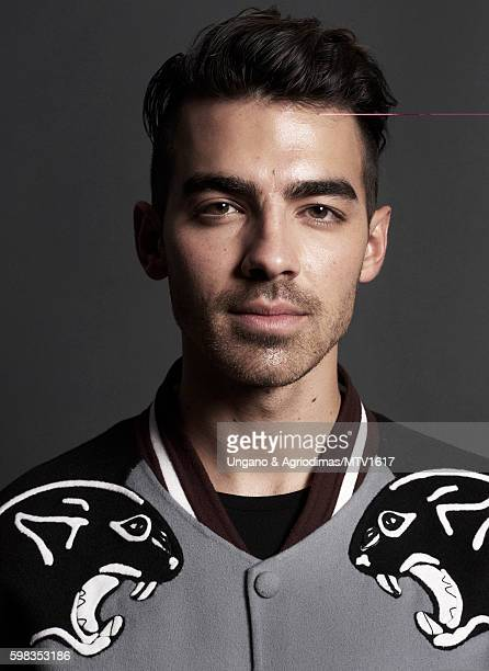 Joe Jonas of DNCE poses for a portrait at the 2016 MTV Video Music Awards at Madison Square Garden on August 28 2016 in New York City