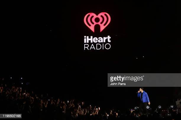Joe Jonas performs on stage during Y100's Jingle Ball 2019 Presented by Capital One at BB&T Center on December 22, 2019 in Sunrise, Florida.