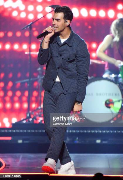 Joe Jonas performs onstage during Jonas Brothers Happiness Begins Tour at Amway Center on November 16 2019 in Orlando Florida