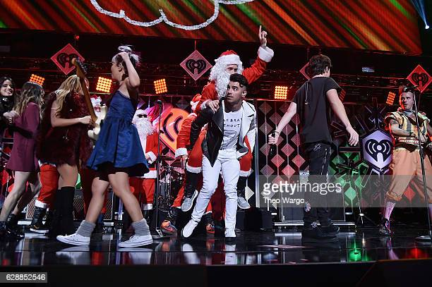 Joe Jonas performs onstage during Z100's Jingle Ball 2016 at Madison Square Garden on December 9 2016 in New York New York