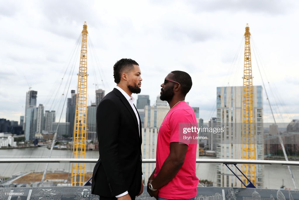 Boxing Press Conference - Daniel Dubois, Nathan Gorman, Joe Joyce and Bryant Jennings : News Photo