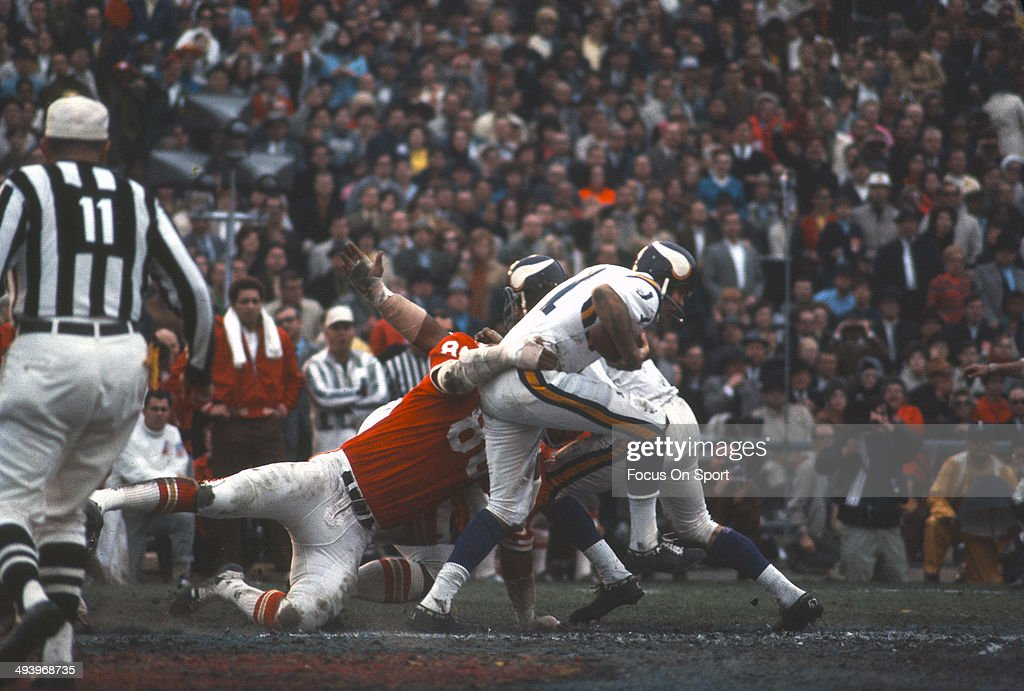 Super Bowl IV - Minnesota Vikings v Kansas City Chiefs : News Photo