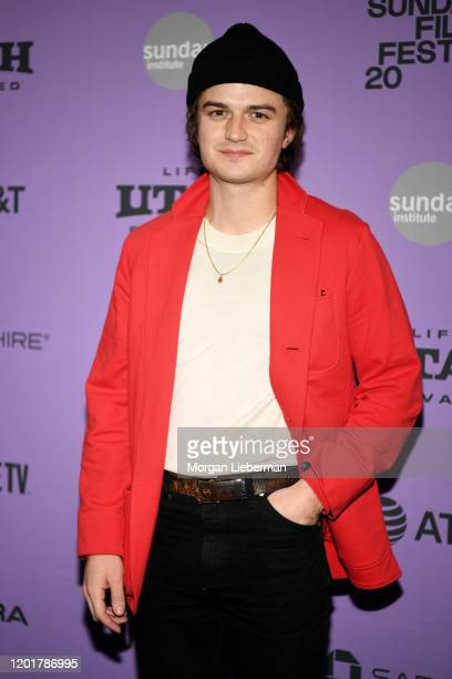 Joe Keery attends the 2020 Sundance Film Festival Spree Premiere at The Marc Theatre on January 24 2020 in Park City Utah