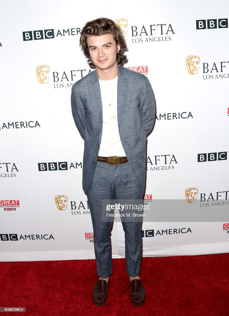 Joe Keery attends the BBC America BAFTA Los Angeles TV Tea Party 2017 at The Beverly Hilton Hotel on September 16, 2017 in Beverly Hills, California.