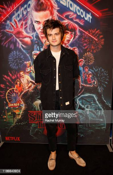 Joe Keery attends the Stranger Things SAG NOM COMM at Linwood Dunn Theater on November 09, 2019 in Los Angeles, California.