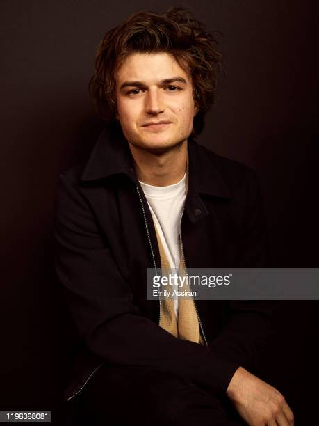 Joe Keery from Spree poses for a portrait at the Pizza Hut Lounge on January 24 2020 in Park City Utah
