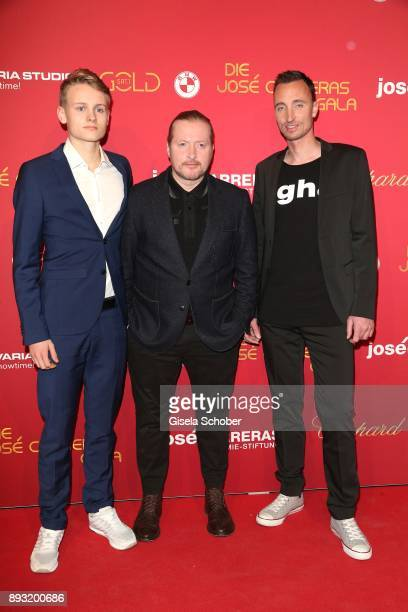 Joe Kelly and his son Luke Kelly and Marc Mertens during the 23th annual Jose Carreras Gala at Bavaria Filmstudios on December 14 2017 in Munich...
