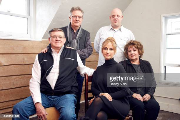 Joe Kiger Ken Cook Stephanie Soechtig Bucky Baily and Darlene Kigerfrom the film 'The Devil We Know' poses for a portrait in the YouTube x Getty...