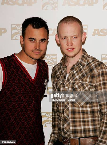 Joe King and Isaac Slade of The Fray arrive at the 2007 ASCAP Pop Music Awards held at the Kodak Theatre in Hollywood California