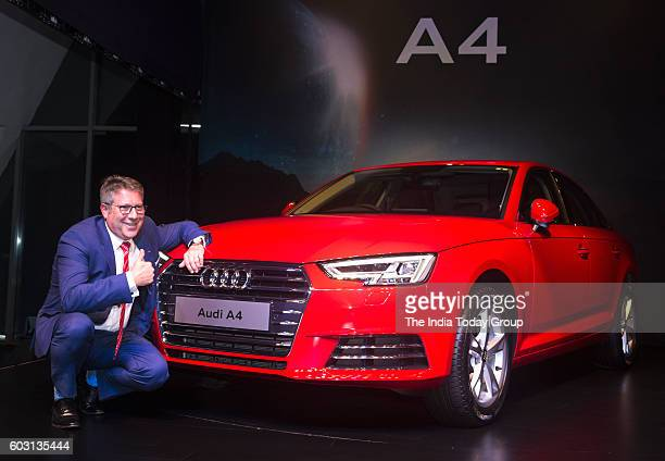 Joe King at the launch of Audi A4 2016 in New Delhi