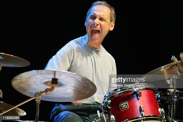 Joe La Barbera performs on stage at Teatro Pavone during Umbria Jazz Festival on July 14 2011 in Perugia Italy