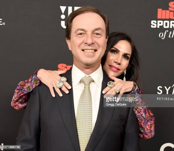 Joe Lacob and Nicole Curran attend the Sports Illustrated Sportsperson Of The Year Awards at The Beverly Hilton Hotel on December 11, 2018 in Beverly...