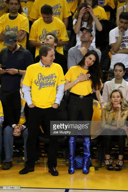 Joe Lacob owner of the Golden State Warriors attends a game against the Cleveland Cavaliers in Game One of the 2018 NBA Finals on May 31 2018 at...