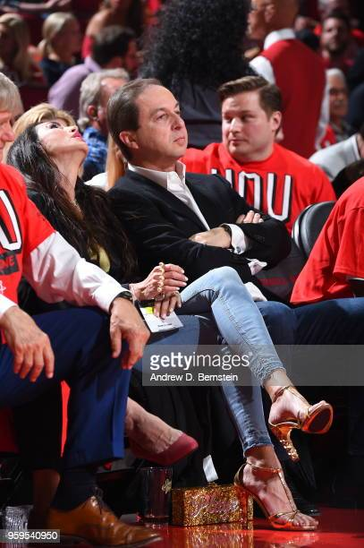 Joe Lacob, owner of the Golden State Warriors, attends Game One of the Western Conference Finals against the Houston Rockets during the 2018 NBA...