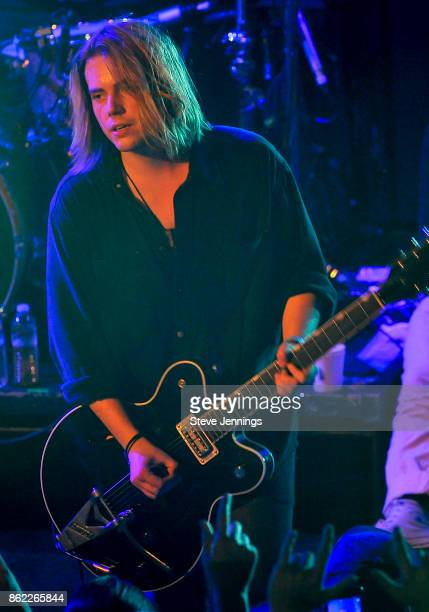 Joe LangridgeBrown of Nothing But Thieves performs in support of their new album release 'Broken Machine' at Great American Music Hall on October 16...
