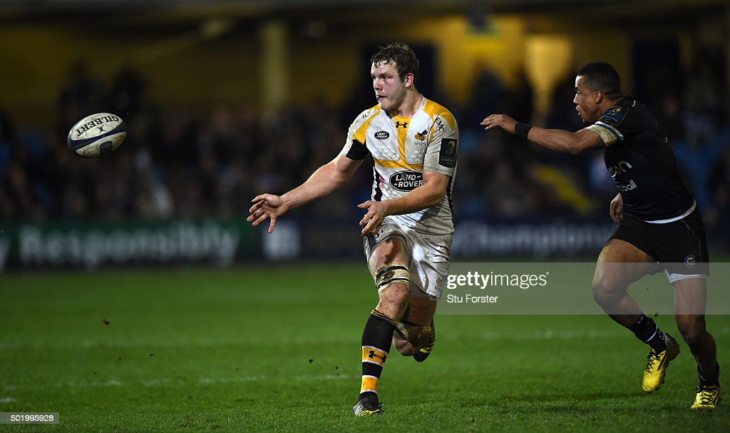 Bath Rugby v Wasps - European Rugby Champions Cup : News Photo