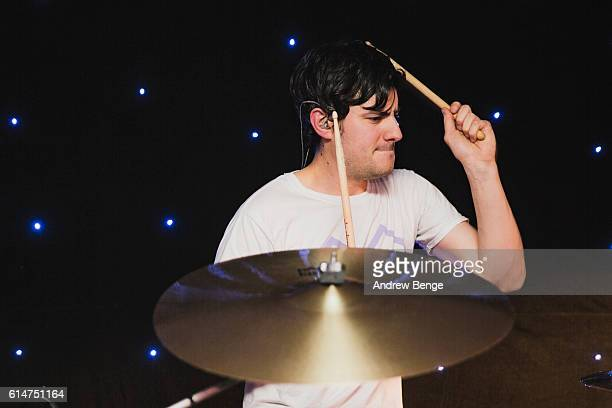 Joe Lazarus of InHeaven performs at Brudenell Social Club on October 14 2016 in Leeds England